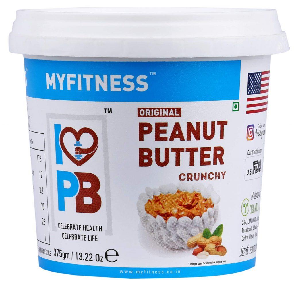 MYFITNESS Gold Natural Peanut Butter