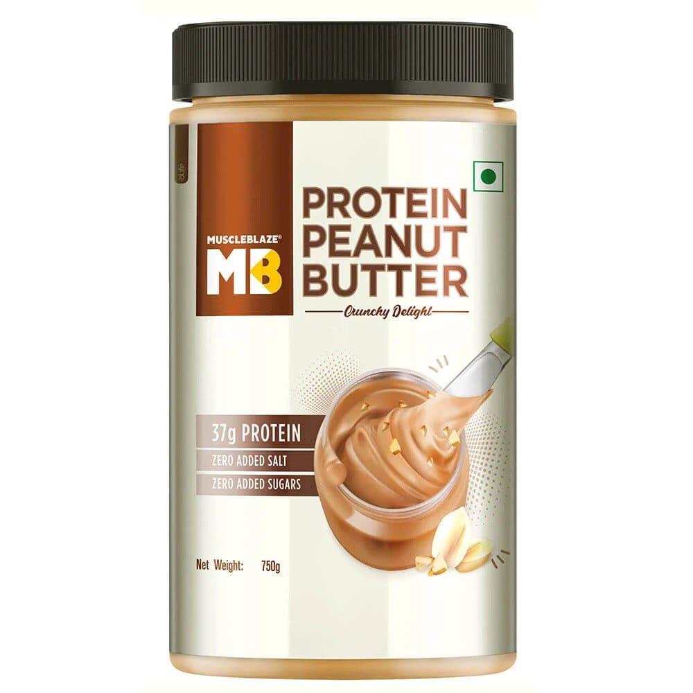 MuscleBlaze High Protein Peanut Butter