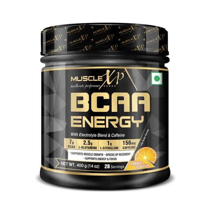 MuscleXP BCAA Energy With Caffeine